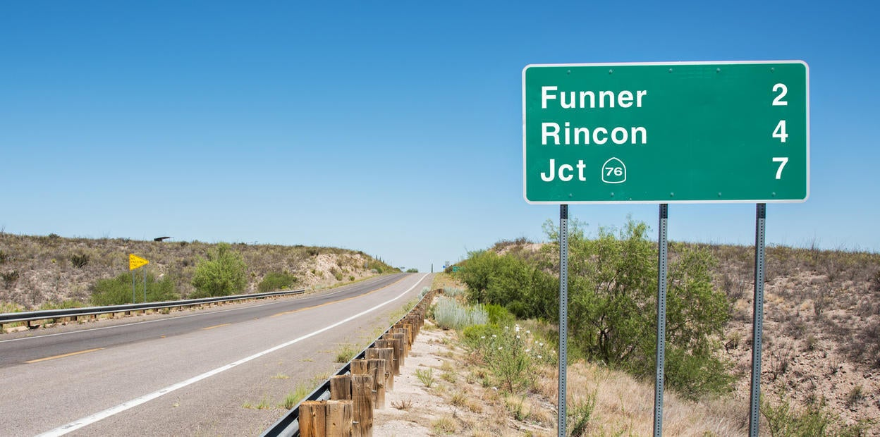 Funner Road Sign