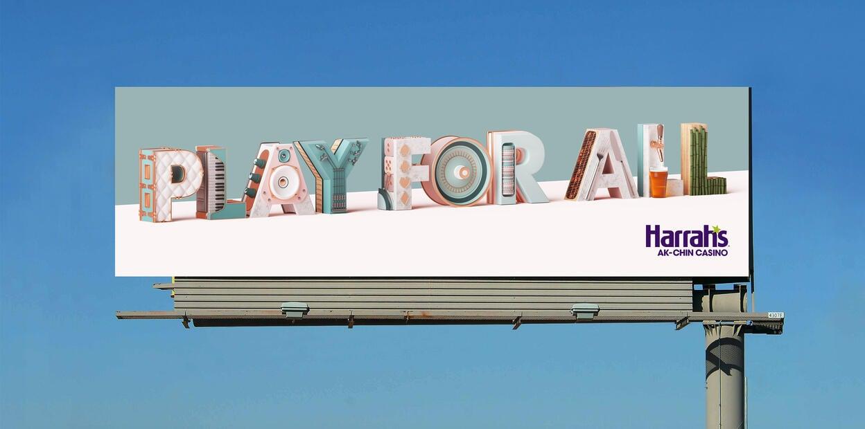 Harrahs Ak-Chin - OOH Billboard