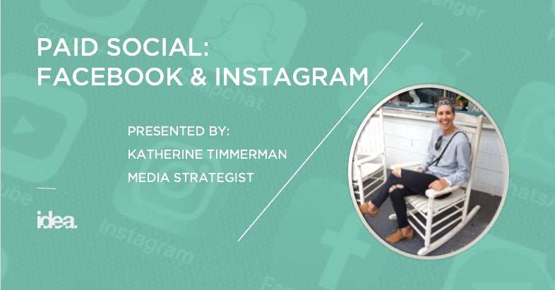 Paid Social Media: What You Need to Know About Facebook & Instagram Now