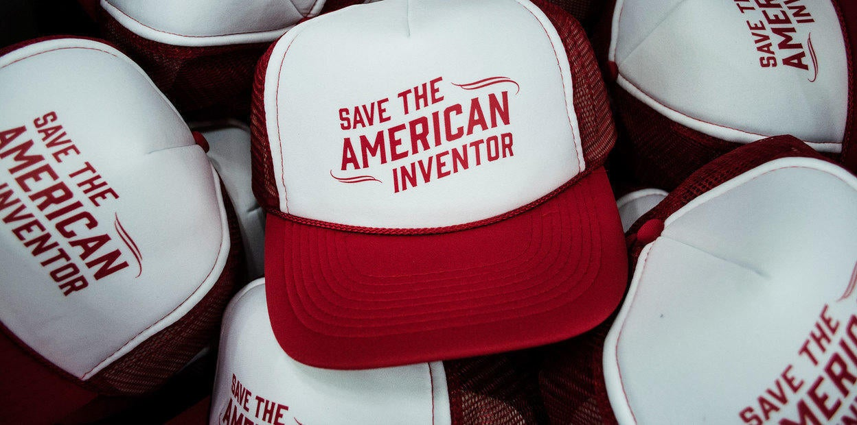 INO-V8 - Save the American Inventor Hats