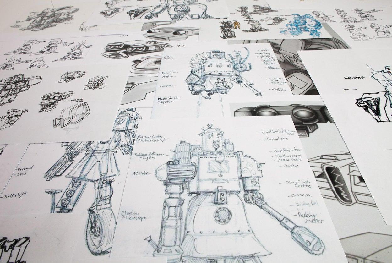 INO-V8 - Sketches