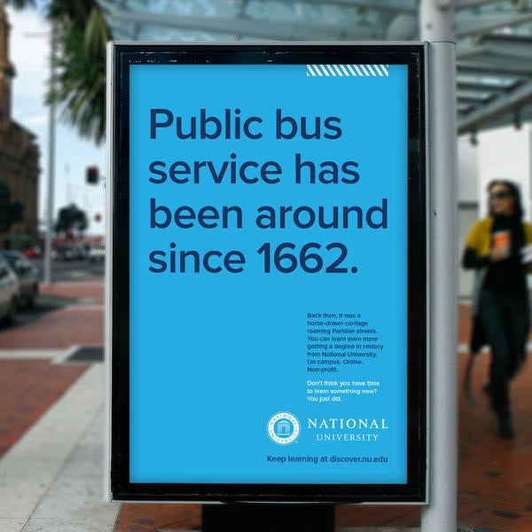 Public bus service has been around since 1662