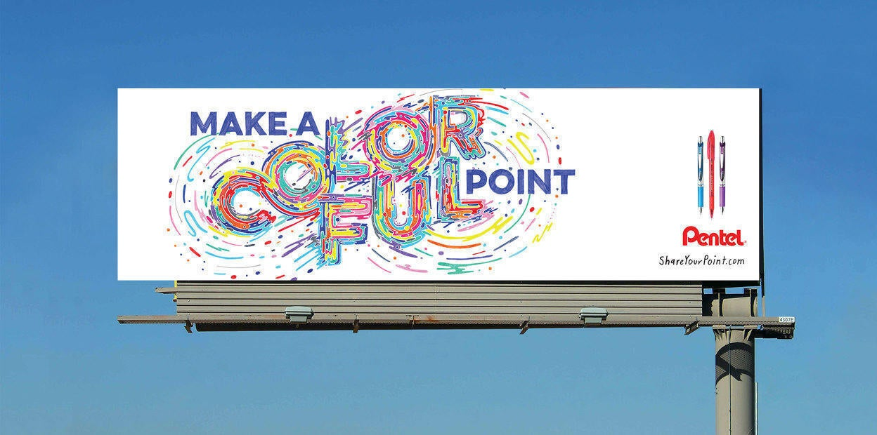Make a colorful point