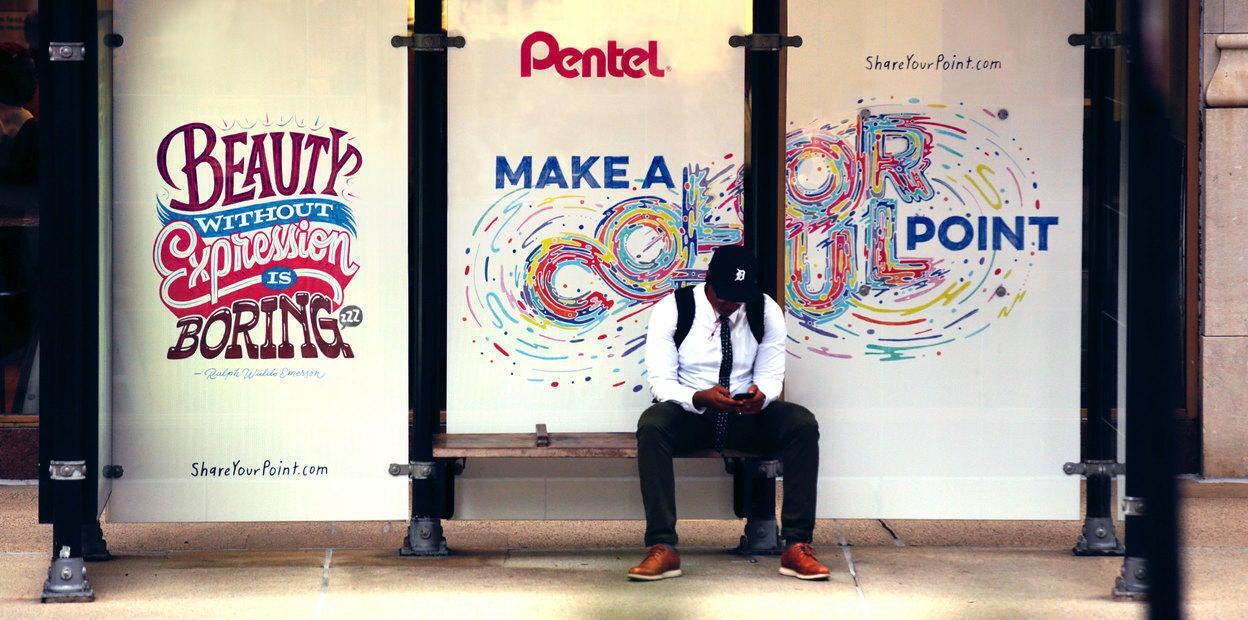 Pentel Bus Stop