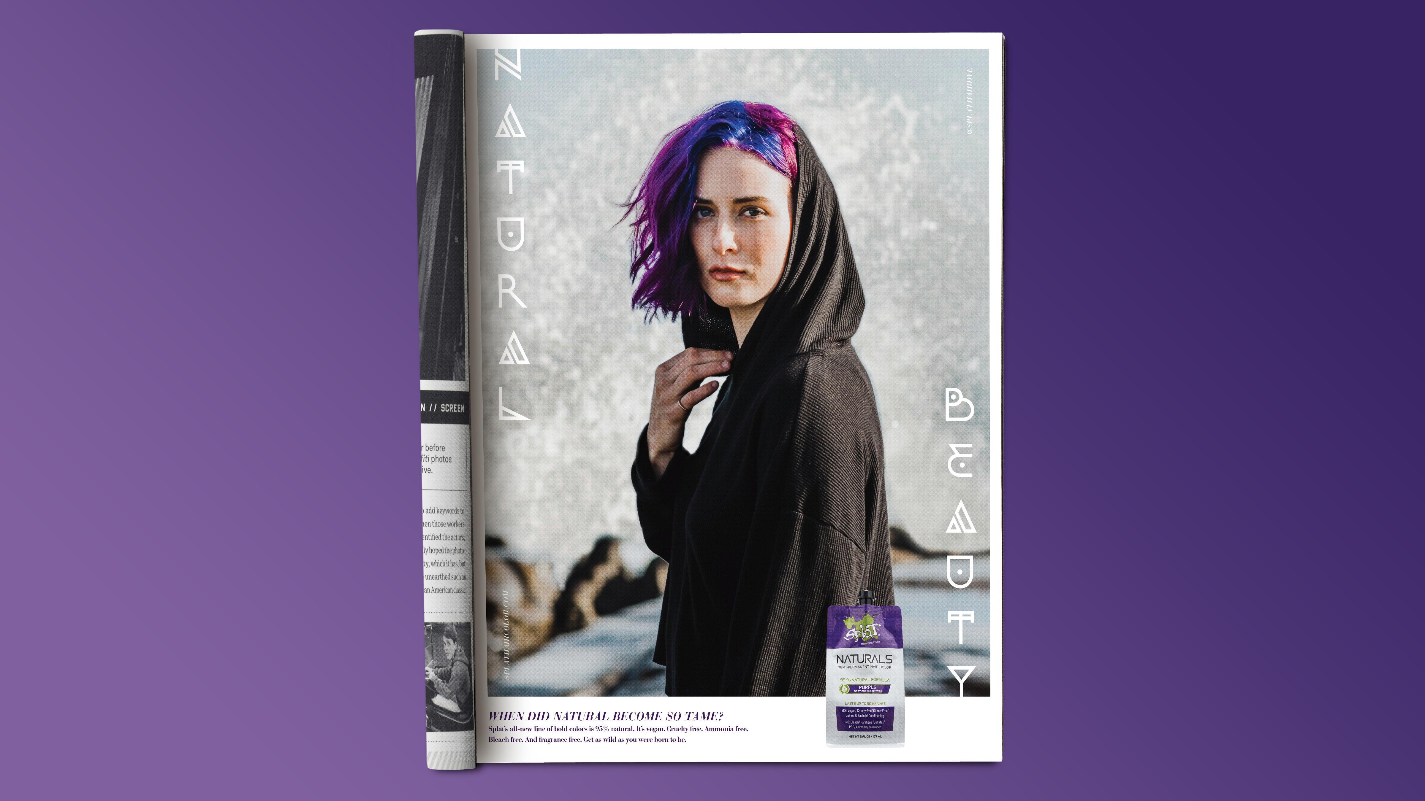 Splat - Purple Magazine